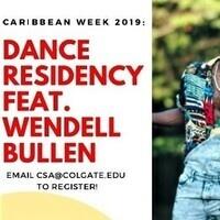 Dance Residency ft. Wendell Bullen (Day 3)