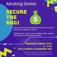 Adulting Series: Secure the Bag!