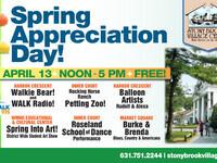 Spring Appreciation Day!