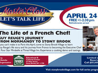 Master Class….The Life of a French Chef!
