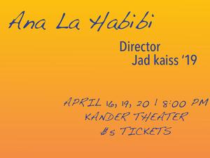 Ana La Habibi poster information