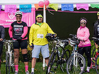 Go Pink! Towpath Community Foundation Breast Cancer Bike Event and 5K