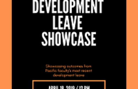 2019 Faculty Development Leave Showcase