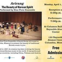 """Arirang: The Beauty of Korean Spirit"" by Eine Flute Ensemble"