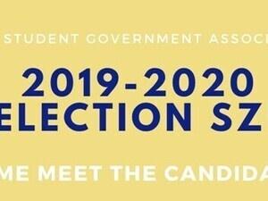 2019-2020 SGA Candidates Tabling
