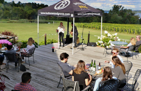 Live Music Every Saturday at Buttonwood Grove