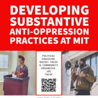 Developing substantive anti-oppression practices at MIT