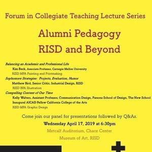 Panel Discussion Risd Alumni Rhode Island School Of Design