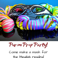 Purim Prep Party