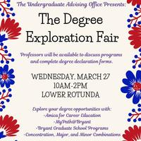 Spring 2019 Degree Fair
