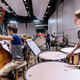 Music: Allegheny College Percussion Ensemble