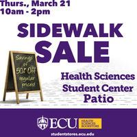 Health Sciences Campus Sidewalk Sale