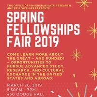 Spring Fellowships Fair 2019