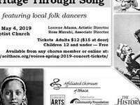 Voices Chorus Presents: Exploring Ithaca's Heritage through Song