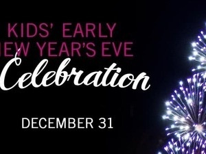 Kids' Early New Year's Eve Celebration