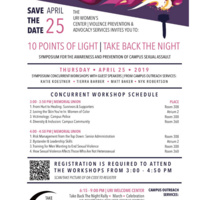 10 Points of Light | Take Back the Night