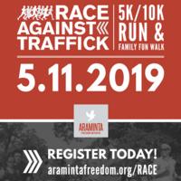Race Against Traffick 5k/10k Run & Family Fun Walk
