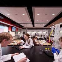Chemistry Pizza Social for Undergraduate Advising Week