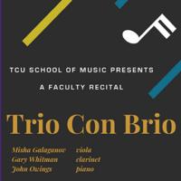Faculty Recital Series: Trio Con Brio.
