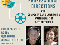 Professional Directions with Composer David Lawrence and Writer/Lyricist Faye Greenberg