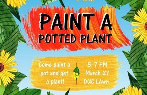 Paint A Potted Plant