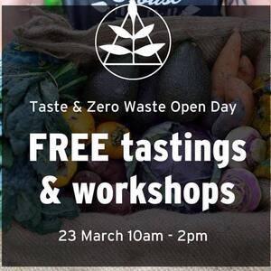 Taste & Zero Waste Open Day @ Alfalfa House