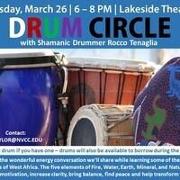 Drum Circle with Shamanic Drummer Rocco Tenaglia