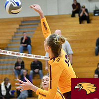 UMN Crookston Women's Volleyball vs  Wayne State College