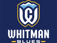 Whitman College Blues Logo (for Athletics use only)