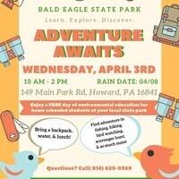 Adventure Awaits Spring Homeschool Day
