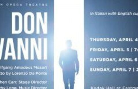 Eastman Opera Theatre - Don Giovanni (In Italian with English supertitles)
