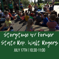 Storytime with Former State Rep. Walt Rogers