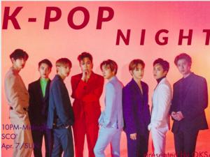 K-POP NIGHT POSTER