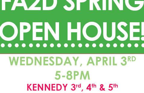 FA2D Spring Open House