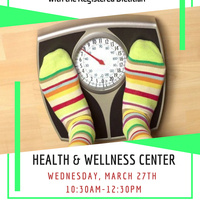 Weight Analysis Weds 3/27/19 10:30-12:30pm | Dining Services