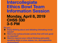 SHSU Intercollegiate Ethics Bowl Info Session