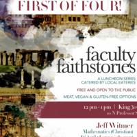 Faculty Faith Stories