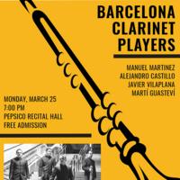 Guest Artist Series: Barcelona Clarinet Players