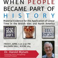 Lecture: Harold Mytum