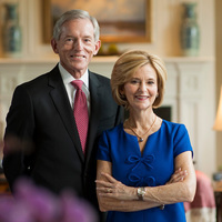 Dedication of Clay and Debbie Jones Center for Leadership and Service