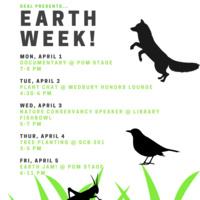 Earth Week: The Nature Conservancy Speaker