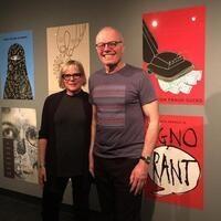 Graphic Design Juror Lecture:  Joe Scorsone and Alice Drueding