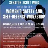 Senator Wilk hosts FREE Women's Self Defense Workshop