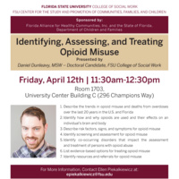 Identifying, Assessing, and Treating Opioid Misuse