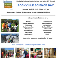 30th Rockville Science Day