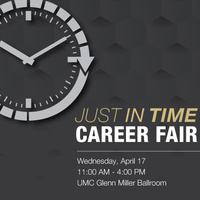 Just in Time Career Fair
