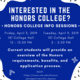 Honors College Info Session