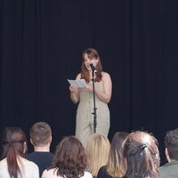Readings by Senior Creative Writing Students