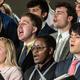 The Boston College University Chorale Performance