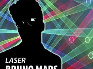 Laser Bruno Mars Evening Planetarium Show
